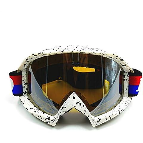 ZHEN Harley-Davidson Moto Caschi Cross occhiali vento prevenzione e sabbia polvere occhiali , 3