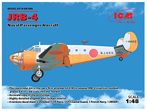 ICM 48184Maqueta de jrb de 4, Naval Passenger Aircraft, Juego