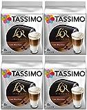 Tassimo T Discs L'OR Espresso Latte Macchiato (4 Packs, 64 T discs, 32 Servings)