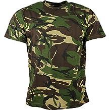 Kombat UK de los Hombres Adultos Camuflaje Camisetas, Hombre, Color DPM Camo, tamaño