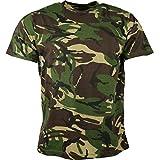 Kombat UK hombres adultos camuflaje camisetas, hombre, color DPM Camo, tamaño M