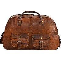 Shakun Leather Neue Vintage Reisetasche, Sporttasche, Ausflugstasche, NEU