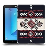 Head Case Designs Marineblau Neo Navajo Ruckseite Hülle für Samsung Galaxy Tab S3 9.7