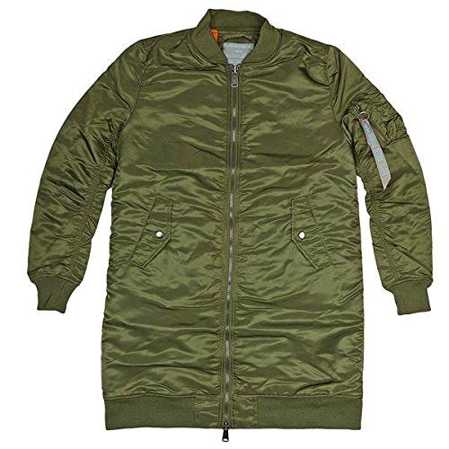 Alpha Industries Jacke MA-1 Coat Wmn, Color:sage-green;Größe:L