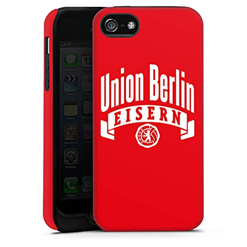 Apple iPhone 7 Tasche Hülle Flip Case 1. FC Union Berlin Fanartikel Fußball Tough Case matt