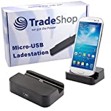 Universal Micro-USB Dockingstation Ladestation Hot Sync Datenübertragung Ladegerät für Amazon Kindle Fire HD 7 HD 8.9, Blackberry Passport Classic Z10 Z30, Motorola Moto X E G 2, Huawei Ascend P7 Mini Honor 6, P7 P8, Y550 Mate 7