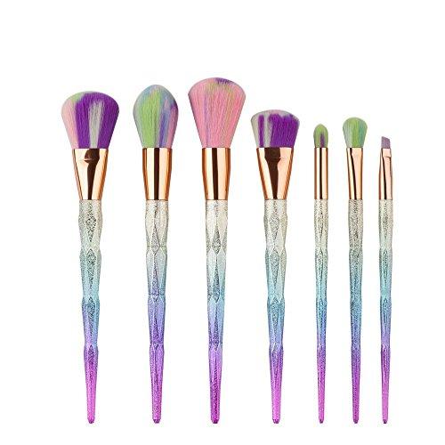 Lennov Professionelle 7 teile/satz Make-Up Kosmetik Pinsel Set Powder Foundation Lidschatten Lippenpinsel Werkzeug
