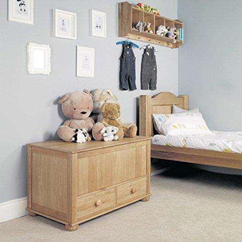 Oak Furniture House Jack & Jemima Eiche Kinder Möbel Spielzeug Decke/Box