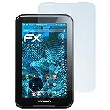 atFolix Schutzfolie kompatibel mit Lenovo IdeaTab A1000 Folie, ultraklare FX Bildschirmschutzfolie (2X)