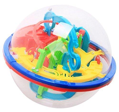 MYNC - Laberinto Bola 3D Puzzle Esfera Pelotas Lógica Capacidad Stages Aprendizaje Actividad para Niños Adultos Diversión En Familia Cumpleaños Navidad Cerebro Juguete Juego