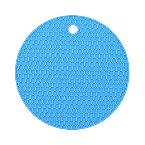 Longwei Isolierkissen Silikagel Runde kleine Waben Tischmatte Schüssel Pad Coaster Hitzebeständige...