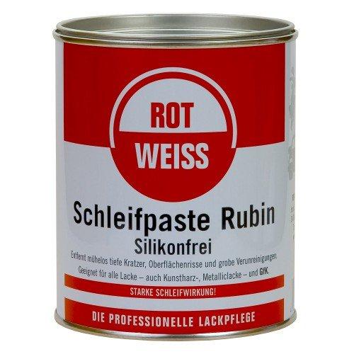 750ml Rotweiss Schleifpaste Rubin Politur 3000