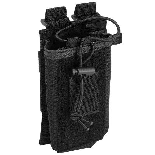 5.11 Tactical Funkgerät-Tasche mit MOLLE-Aufnahmepunkten, Schwarz