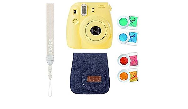 Instax Mini 8 Sofortbildkamera Gelb Mit Tasche Kamera