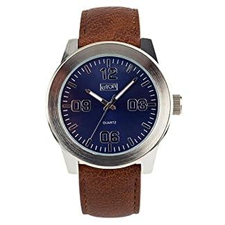 Eton–Reloj de cuarzo, correa de color marrón–3269j-br