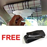 #6: Lifestyle-You Value Combo of Car Tissue Holder Box + Car Sunglass Holder