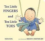 Ten Little Fingers and Ten Little Toes padded board book - Mem Fox