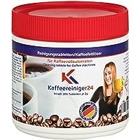 Pastillas para limpieza de cafeteras (200 unidades, 2 g, para cafeteras expreso y totalmente automáticas)