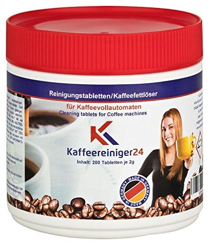 200 Reinigungstabletten 2g für Kaffeevollautomaten I Kaffeeautomat I Vollautomat I Kaffeemaschinen...