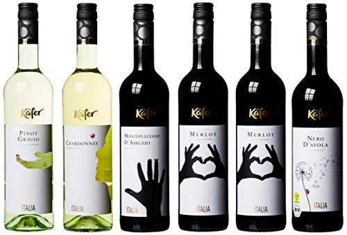 Feinkost Käfer Weinpaket Italien (6 x 0.75 l)