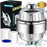 youtoo ducha filtro de agua Shower filtro ducha filtro 12peldaños ducha de agua Filte con 2cartucho de filtros & teflón banda Filtra contaminantes, cloro, metales pesados, agua erweichen