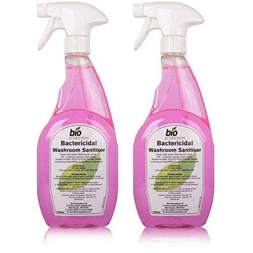 2-pack-of-bactericidal-sanitiser-cleaner-mildew-bacteria-mould-remover-750ml
