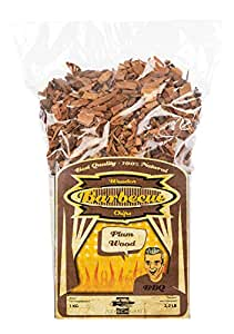 Axtschlag Räucherchips, Wood Smoking Chips Pflaume – Plum, Holz, 1 kg