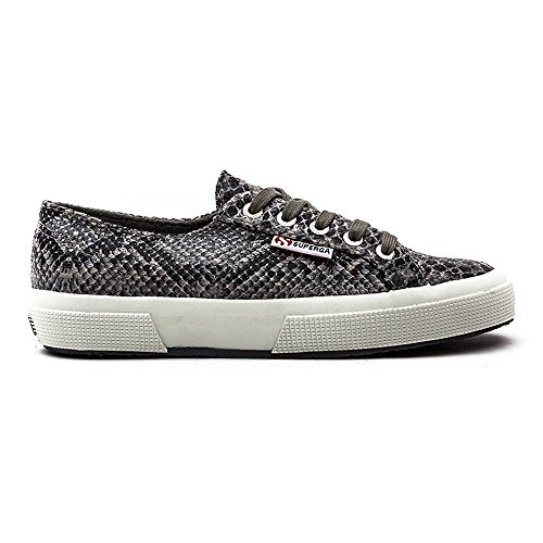 Superga  2750 Cotu Snake, Sneakers Basses adulte mixte Gris - Gris