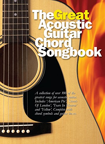 The Great Acoustic Guitar Chord Songbook Amazon Nick Crispin