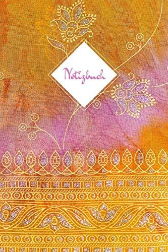 Notizbuch: Geld und Rosa Pink • DIN A5 • Linierte 120 Seiten • Kalender • Taschenbuch • Notizblock • Block • Terminkalender • Geschenkidee • Für ... • Design • Hindu • Morgenland • Notizheft -