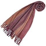 LORENZO CANA High End Luxus Schal Schaltuch aus der feinsten Alpakawolle von der ersten Schur 100% Alpaka Alpakaschal flauschig weich 78491