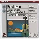 Beethoven: The Complete Violin Sonatas, Vol. 1; The Violin Romances by Bernard Haitink