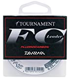 Daiwa Tournament FC 0.33mm 50m Fluorocarbon Schnur transparent