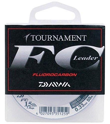Daiwa Tournament FC 0.40mm 50m Fluorocarbon Schnur transparent