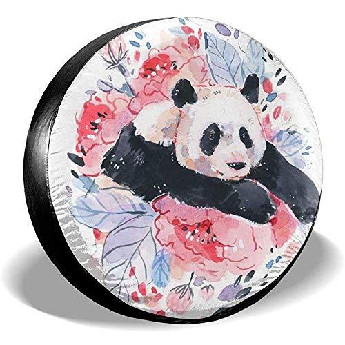 Hiram Cotton Spare Tire Cover per Panda Ruota di Scorta Copertura Pneumatici Fuoristrada Extreme Speed   Overdrive Univers