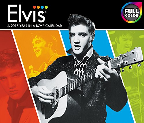 Elvis 2015 Calendar (Elvis-tageskalender)