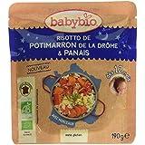 Babybio Sachet Risotto de Potimarron de la Drôme/Panais 190 g -