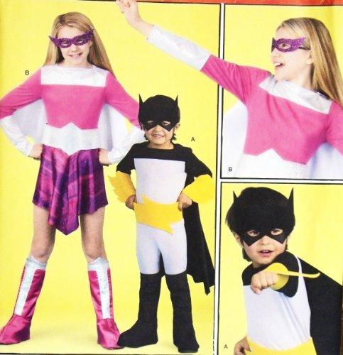 y Kostüm Muster 2567. Kinder/Kinder/Jungen/Blumenprint/Kleinkind SZS 3; 4; 5; 6Super Hero Kostümen. Batman, etc. ()
