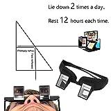 Horizontale Prisma faul Gläser, Prisma Brille, Periskop Brillen - zum Lesen und Fernsehen im Bett liegend flach geeignet, keine Genickschmerzen mehr, zum Klettern, Kletterbrille von Enshey