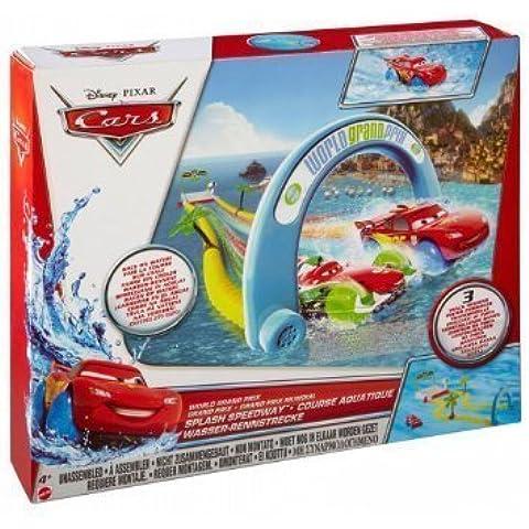 Disney Cars World Grand Prix Splash Speedway Track Set by Disney