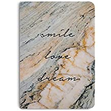 DailyObjects Smile Love Dream A5 Notebook (5.83 Inches x 8.27 Inches, Multicolour)