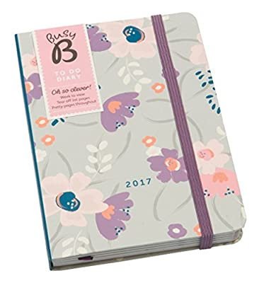Busy B 2017 To Do Diary with Tear-Out To Do Lists