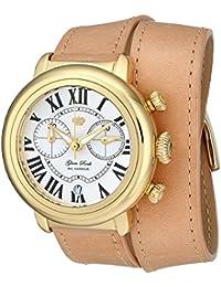 Glam Rock Bal Harbour Damen-Armbanduhr 40mm Armband Leder Multicolor Batterie Zifferblatt Silber GR77139