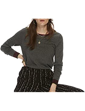 Scotch & Soda Knitted Crew Neck Top, Jersey para Mujer