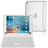 iPad Mini 3/2/1 Keyboard Cover, Raydem Ultra-Thin iPad Mini Wireless Bluetooth Keyboard Folio
