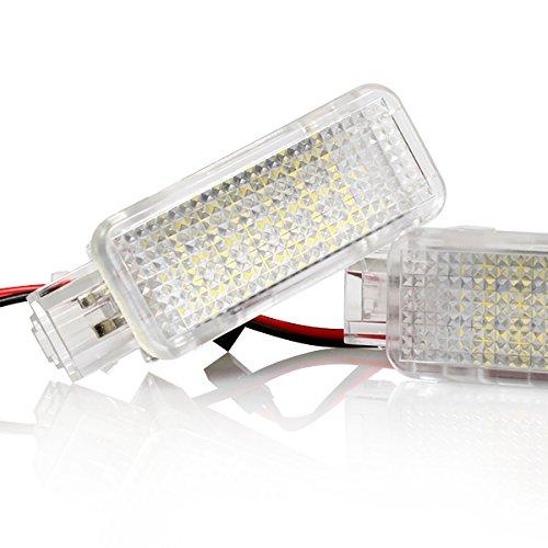 1 x LED Fußraumbeleuchtung Kofferraumbeleuchtung Türeinstiegsleuchten Schminkspiegel Handschuhfach