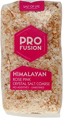 Profusion Himalayan Rose Salt Coarse 500 g (Pack of 4) from Profusion