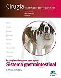 El aparato digestivo (Cirugía en la clínica de pequeños animales) - Libros de veterinaria - Editorial Servet
