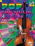 Pop for Violin: Bright Eyes. Band 4. 1-2 Violinen. Ausgabe mit CD. - Michael Zlanabitnig
