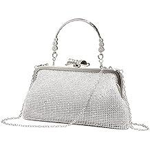 Bolso de Embrague para Mujer Clutch Bolsa para Boda Fiesta Paseo 4344b269a3b2